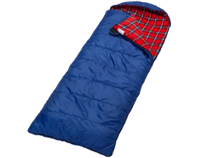Blauer koppelbarer Deckenschlafsack Dundee von Skandika
