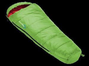 Grün roter Kinder Schlafsack Vegas Junior von Skandika