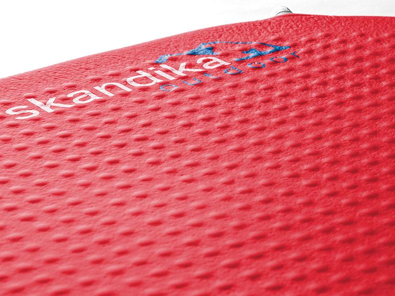 rot 194 x 63 cm Skandika Isomatte Red Trek Ultralight 1708