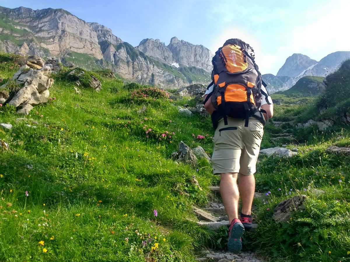 Skandika Bogong 45+10 Sac /à dos trekking randonn/ée