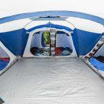 Eingangsbereich Zelt Skandika Nimbus 12 Sleeper Protect