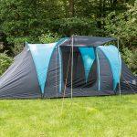 Außenansicht Zelt mit Sonnensegel | Hammerfest 4 Sleeper Protect