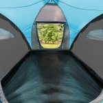 Wohlfläche mit festgenähtem Zeltboden Hammerfest 4 Sleeper Protect