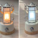 Campinglampe Skandika Kiruna mit warmem und kalten Weißlicht