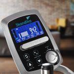 Skandika Ellipsentrainer CardioCross Carbon Pro Elliptical mit Multifunktionscomputer