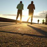 Joggen als Sport am Morgen