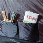 Organizer Taschen im 4 Personen Kuppelzelt Skandika Vaasa 4