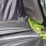 4 Personen Kuppelzelt mit eingenähtem Zeltboden - Skandika Vaasa 4