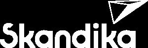 Skandika Logo in weiß