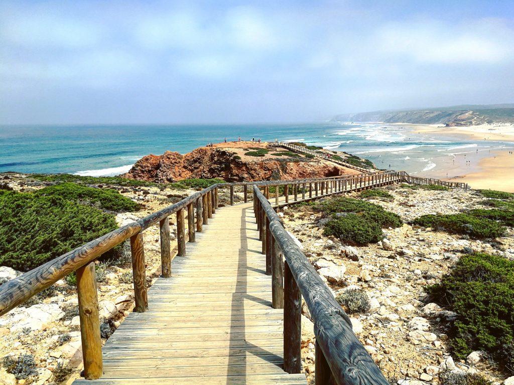 Camping im Herbst an der Algarve