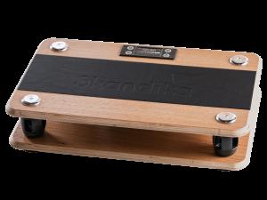 Skandika Virke Vibrationsplatte aus Holz