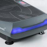 Blaues LED Licht für Trainingsstufe der 4D Vibration Plate V2000