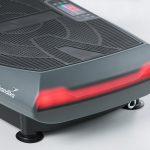 Rotes LED Licht zur Anzeige der Trainingsstufe der Vibro Platte Smart LED: Trainingsstufe 1-20 - 4D Vibration Plate V2000