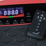 4D Vibrationsplatte V2500 mit intuitivem Touchdisplay und Fernbedienung