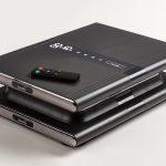 Oszillierende Vibrationsplatte Sunna mit Fernbedienung