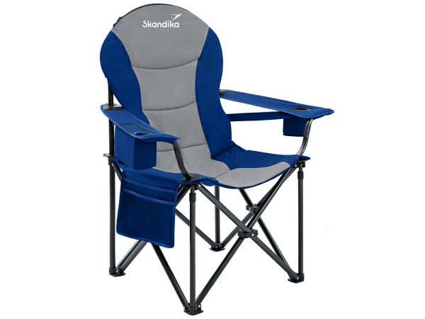 Skandika Campingstuhl mit Getränkehalter Relax Comfort