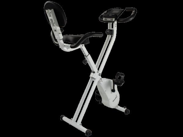 Klappbarer Heimtrainer Skandika Foldaway X-1200 in Weiß