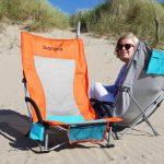Skandika klappbarer Strandstuhl Beach