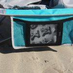 Skandika klappbarer Strandstuhl Beach mit Verstaumöglichkeit