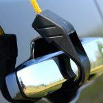 Befestigung des Skandika Sonnensegel am Auto