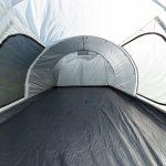 Wohnfläche ohne Schlafkabine - Tunnelzelt Simo 4+