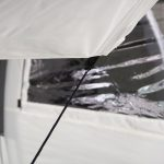 Verstärkter Abspannpunkt am Skandika 4 Personen Tunnelzelt Simo 4+