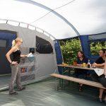 Tente tunnel Skandika Milano 6 Sleeper Protect