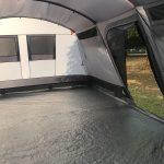 Innenansicht des Zeltes Skandika Hurricane 12