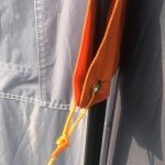 Abspannpunkte des Zeltes Skandika Hurricane 8 Protect
