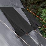 Belüftungen des Zeltes Skandika Hurricane 8 Protect