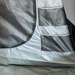 Organizer-Taschen im Zelt Skandika Hurricane 8 Protect